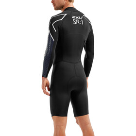 2XU SR:Pro-Swim Run SR1 Wetsuit Herre Black/Blue Surf